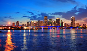 Miami, the home port for the Norwegian Escape