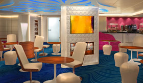 Norwegian Escape's Studio Lounge