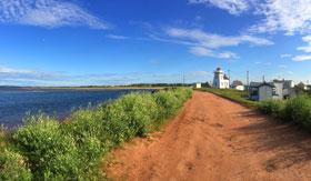 Coastal trail in Prince Edward Island