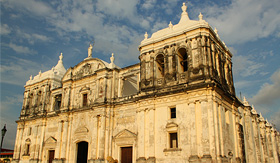 Oceania Cruises Cathedral of Leon Nicaragua