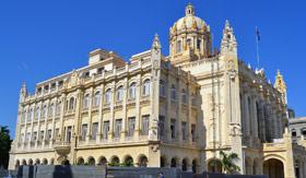 Colonial Architecture in Havana, Cuba