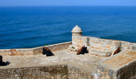 Fortress in Cuba