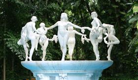 Tropicana Club Fountain in Cuba