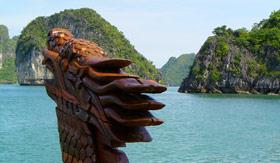 Halong Bay in Hanoi, Vietnam