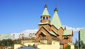 Oceania Cruises Holy Trinity Church Russia Murmansk region