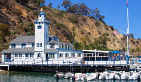 Blue Lighthouse on Catalina Island