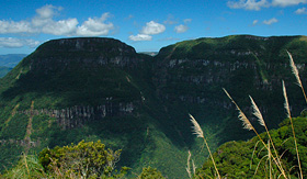 Oceania Cruises Serra Geral National Park mountain range in Southern Brazil