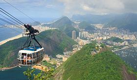 Oceania Cruises Sugar Loaf Mountain cable car