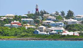 Oceania Cruises view of St George in Bermuda