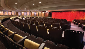 Theater aboard Oceania Cruises