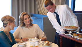 Oceania onboard activities Afternoon Tea