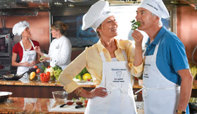 Oceania onboard activities Bon Appetit Culinary Center