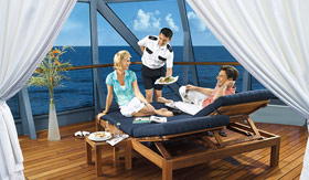 Oceania onboard activities Cabanas