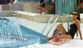 Oceania onboard activities Pools and Jacuzzis