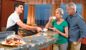 Oceania Cruises Baristas Coffee Bar