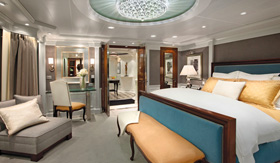 Oceania Cruises Ralph Lauren Home, Owner's Suite