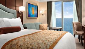 Oceania staterooms Deluxe Oceanview