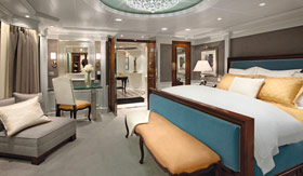 Oceania staterooms Owner's Suite