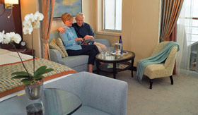 Oceania staterooms Penthouse Suite