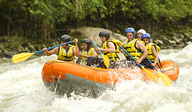Savegre River whitewater rafting