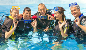 Paul Gaugin onboard activities Scuba Lessons