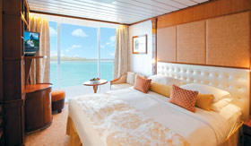 Paul Gauguin staterooms Balcony Stateroom