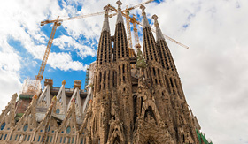 Princess Cruises Barcelona Spain La Sagrada Familia