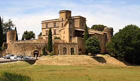 Princess Cruises Castle of Lourmarin France