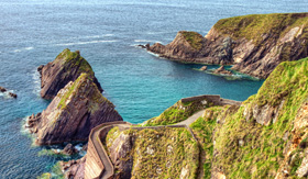 Princess Cruises Dunquin Pier on the Dingle Peninsula in Ireland