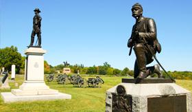 Princess Cruises Gettysburg Battlefield Monuments