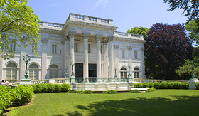 Princess Cruises house of Alva Vanderbilt Vanderbilt marble house Newport Rhode Island USA