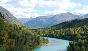Princess Cruises Kenai River Alaska
