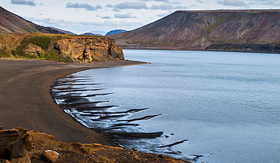 Princess Cruises Kleifarvatn the largest lake on the Reykjanes Peninsula in Iceland