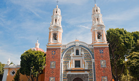 Princess Cruises Our Lady of Guadalupe church Puebla Mexico