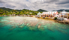 Princess Cruises picture taken in Roatan Honduras