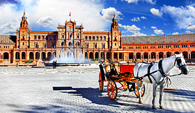 Princess Cruises Plaza de Espana, Sevilla, Spain