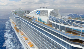 All-balcony Regal Princess from Princess Cruises