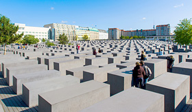 Princess Cruises - Jewish Memorial in Berlin, Germany