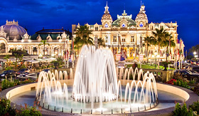Princess Cruises the Monte Carlo Casino in Monte Carlo, Monaco
