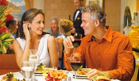 Princess Cruises dining Sabatinis Italian Restaurant