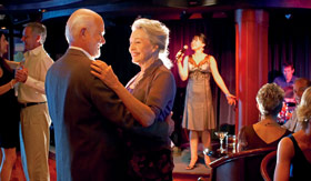 Princess Cruises entertainment Dancing, Karaoke and Comedy