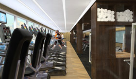 Princess Cruises spa & fitness Lotus Fitness