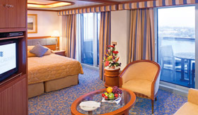 Princess Cruises staterooms Suite with Balcony