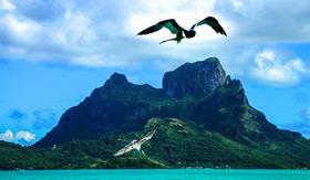 Bora Bora Landscape - Regent Seven Seas