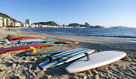 Regent Seven Seas Cruises Copacabana beach Rio de Janeiro