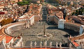 Regent Seven Seas Cruises St Peters Square Vatican Rome Italy