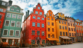 Regent Seven Seas Cruises Stortorget Place in Gamla Stan Stockholm