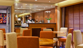Regent Seven Seas Cruises onboard activities Coffee Connection