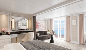 Luxury Suite aboard Regent Seven Seas Splendor