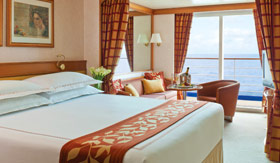 Regent Seven Seas Cruises staterooms Concierge Suite